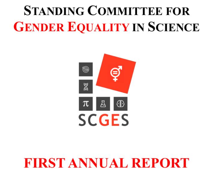 First SCGES annualreport